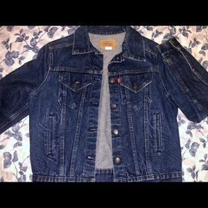 Levi's Dark Denim Jacket